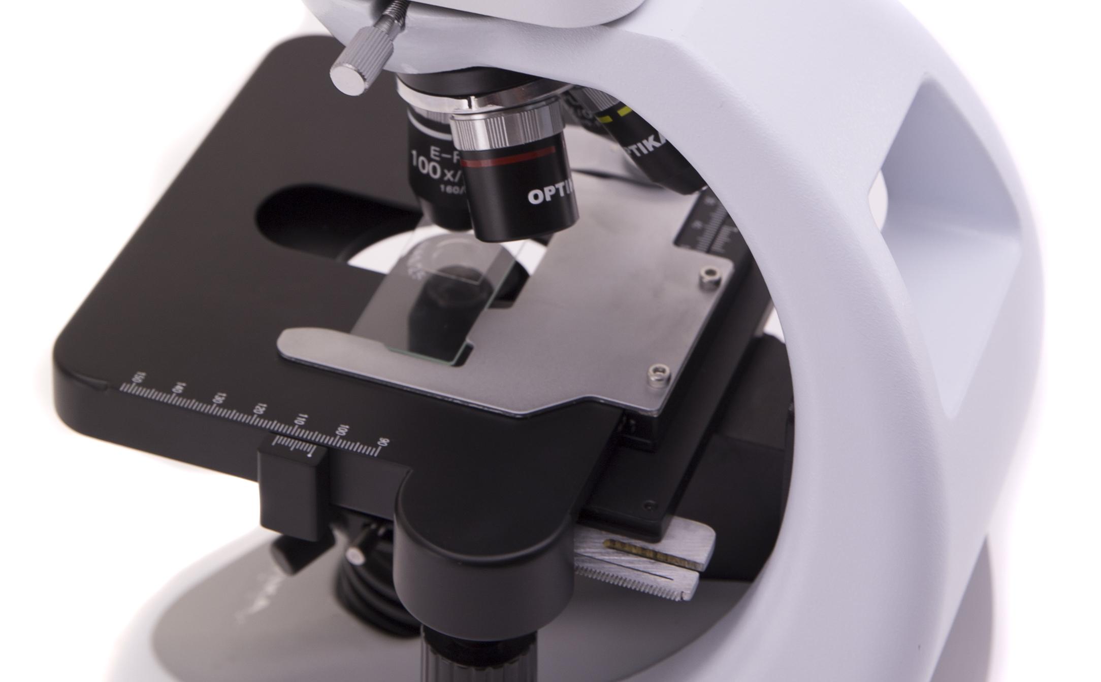 Mikroskop Optika B-290 konstrukcja