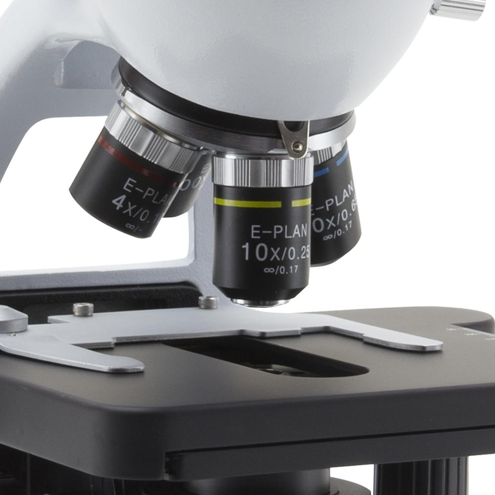 Mikroskop Optika B-290 Obiektywy E-Plan