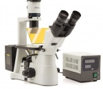 Mikroskop odwrócony Optika Im- 3 z wyposażeniem do fluorescencji