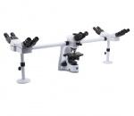 Mikroskop z przystawkami konsultacyjnymi Optika B-510