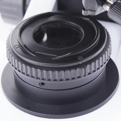 Mikroskop z przysłona polową