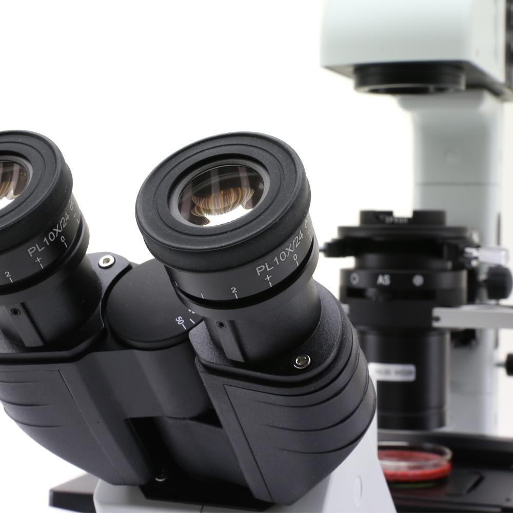 Mikroskopy odwrócone Optika