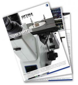 Katalog odwróconego mikroskopu metalograficznego Optika IM-5 MET