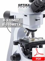 Mikroskopy metalograficzne proste Optika B-510MET