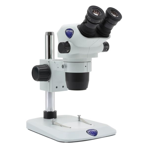 Prosty mikroskop stereoskoppowy na statywie płaskim