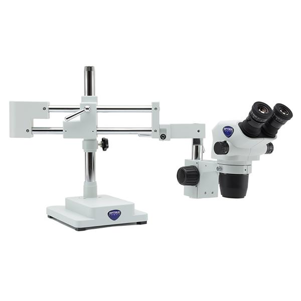 Mikroskop stereoskopowy na wysięgniku